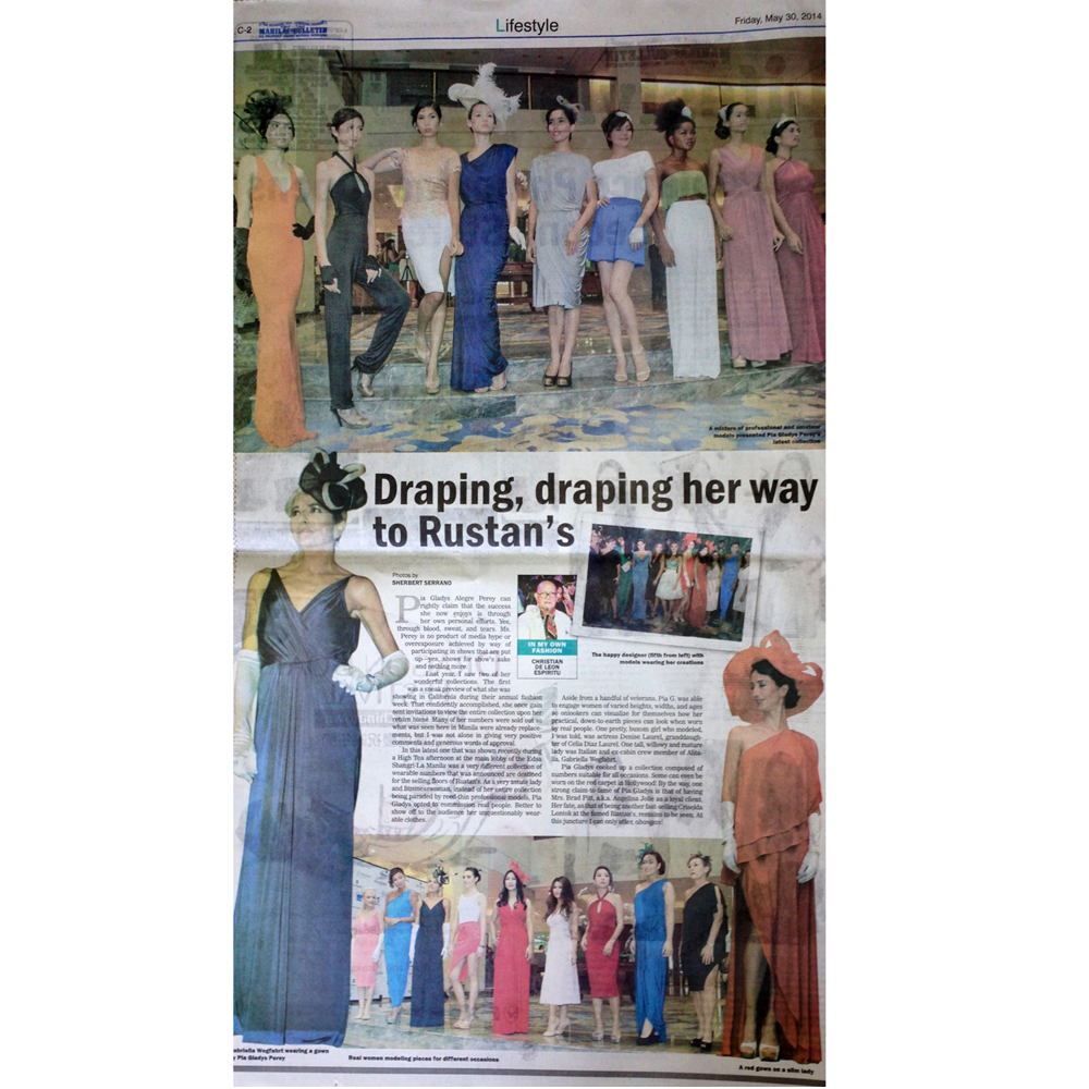 Manila Bulletin feature
